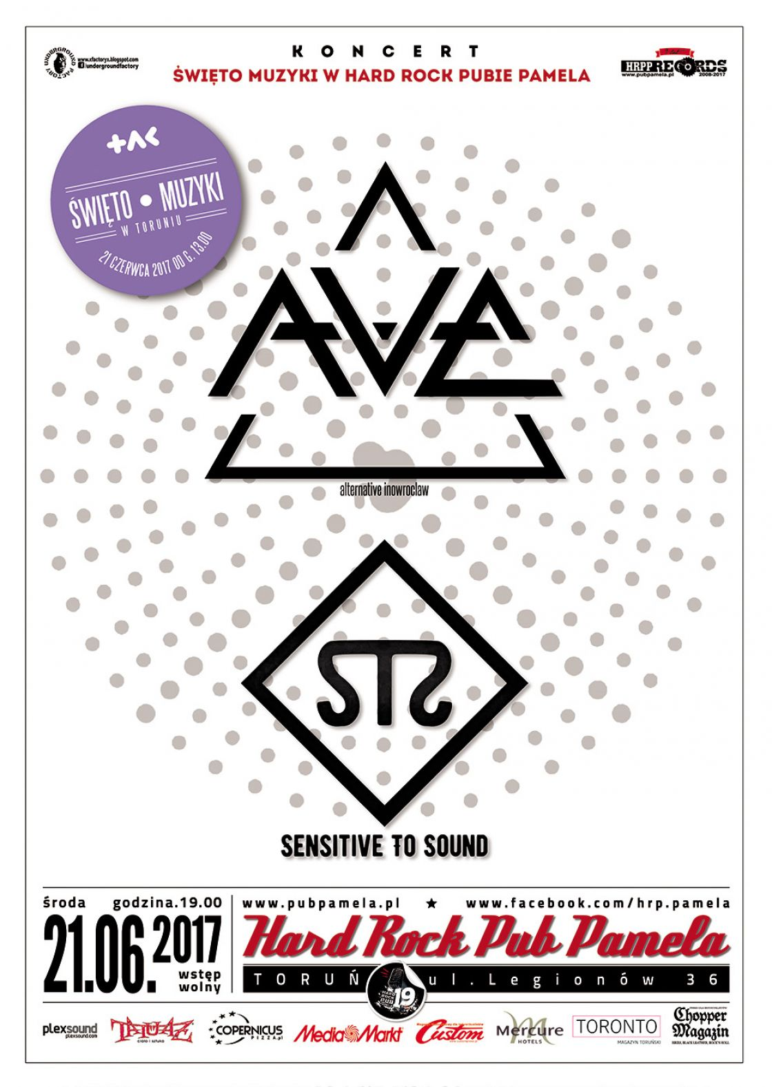 Koncert: Sensitive i Ave
